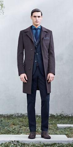 Business Fashions for Hugo Boss Fall/Winter 2014