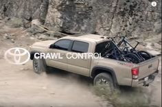 With Tacoma's available Crawl Control, you can just steer, point and go. Perfect tool for those outdoor adventures!