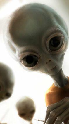 abduction Aliens UFO Extraterrestrial AlienAncient Aliens ET Seti E. Les Aliens, Aliens And Ufos, Ancient Aliens, Handy Wallpaper, Wallpaper Space, Iphone Wallpaper, Mobile Wallpaper, Alien Creatures, Mythical Creatures