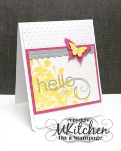 Hello, Spring! by stamping_mynn - Cards and Paper Crafts at Splitcoaststampers