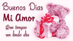 buenos-días-mi-amor Morning Love Quotes, Good Morning Images Hd, Good Morning Picture, Good Morning Love, Good Morning Greetings, Good Morning Wishes, Love Qutoes, Animated Ecards, Today Pictures