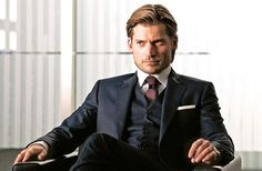 Nikolaj Coster-Waldau Wears A Hugo Boss Suit