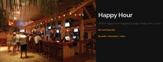 Enjoy our extended Happy Hour in the Winter! Join us from 3 - 7pm Sunday thru Friday ~