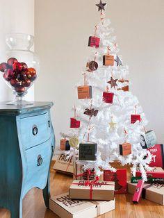Un arbol de Navidad con dulces