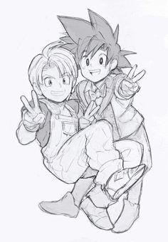Goten e Trunks Dragon Ball Z, Goten E Trunks, Dbz, Dragon Images, Anime Screenshots, Nerd Love, Son Goku, Kawaii Anime, Chibi