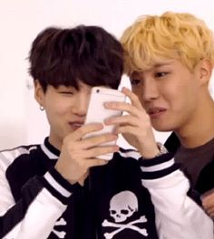 you know yoongi is holding it so close just so hobi has to get closer
