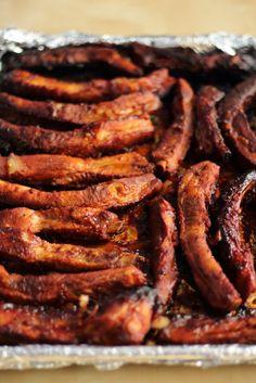 Gochujang Marinated BBQ Pork Ribs