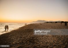 Patara beach at sunset in Patara, Antalya, Turkey, Middle East.... #patara: Patara beach at sunset in Patara, Antalya, Turkey,… #patara