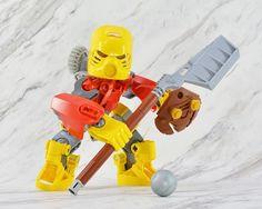 All sizes | Bionicle MOC Jaller | Flickr - Photo Sharing! Bionicle Heroes, Lego Bionicle, Lego Bots, Amazing Lego Creations, Lego Mechs, Lego Design, Lego Models, Lego Projects, Lego Stuff