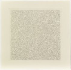 "Sol LeWitt. Line Etchings. 2000. Series of six etching and aquatints. plate (each approx.): 12 1/2 x 12 1/2"" (31.8 x 31.8 cm); sheet (each approx.): 16 x 16"" (40.7 x 40.7 cm). Gift of the artist in honor of Wendy Weitman. 106.2007.1-6. © 2016 Sol LeWitt / Artists Rights Society (ARS), New York. Portfolio. Drawings and Prints"