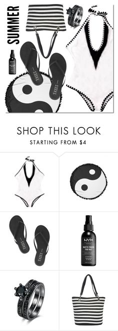 """""""Untitled #3037"""" by mada-malureanu ❤ liked on Polyvore featuring Tkees and Magid"""