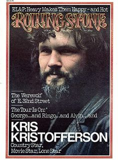 Magazine photos featuring Kris Kristofferson on the cover. Kris Kristofferson magazine cover photos, back issues and newstand editions. Famous Songwriters, My Magazine, Magazine Covers, Rolling Stone Magazine Cover, Voice Singer, Annie Leibovitz Photography, Kris Kristofferson, Janis Joplin, Rock Legends