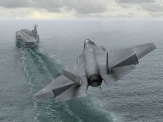 Landing on the aircraft carrier