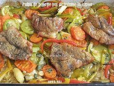 Romanian Food, Pot Roast, Meat, Ethnic Recipes, Pork, Carne Asada, Roast Beef