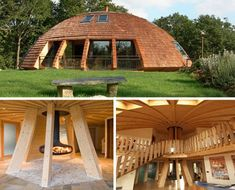 Rotating Eco-Friendly Dome Home Spins on a Central Axis