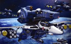 Final Battle - Macross this scene is final battle with Zentradi, all of Valykrie is used Super Packed.