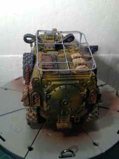 Warhammer 40k - Imperial Guard - Taurox done by Bas Dan - Spikey Bits