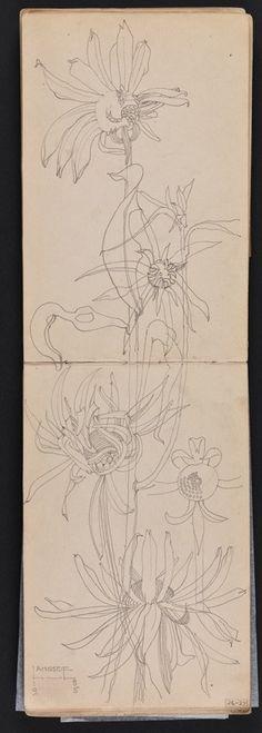 charles rennie mackintosh, travel sketchbook,1895.