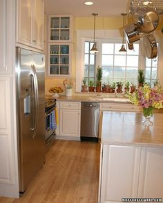 Gentle Reminders: Clean Kitchens - Vacuum the coils of your refrigerator to remove dust and buildup. In older models, the coils are located in the back; in newer ones, look for them at the bottom, behind the front grill.