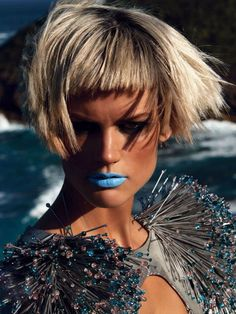 MAKE UP - GUCCI WESTMAN Saskia de Brauw – Patrick Demarchelier – Vogue Japan – May 2012 stylist - lori goldstein hair - orlando pita