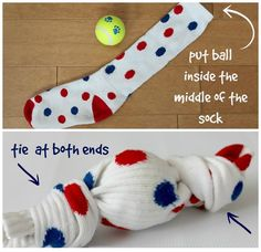 Toys help a dog avoid boredom while exercising its mind. However, it is not necessary for you to spend a lot of money on toys for your dog because you can make several ones in very simple ways and with minimum expenses. Most of the DIY dog toys are easy ...