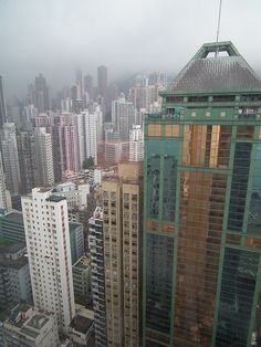 Hong Kong, from Mid Levels.    Bill Gibson-Patmore.  (curation & caption: @BillGP). Bill✔️