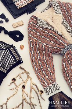 Forget boho, this season we're all about folklore. | Read more at H&M Life