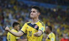James Rodríguez, artilheiro com gols em todos os jogos, é o cara da Copa - Jornal O Globo