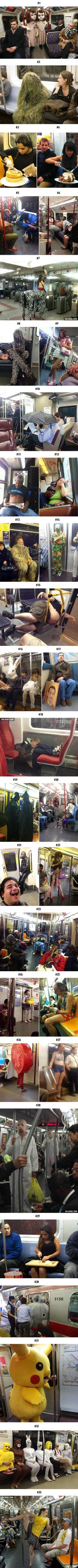 А что интересного происходит в вашем метро?