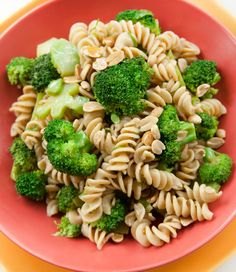 Kamut Spiral Pasta Salad With Broccoli And Peanuts