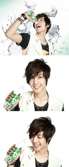 Kim Hyun Joong (found via 麦Cococo)...........I'm thirsty all of a sudden!