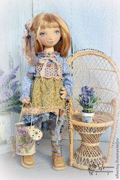 Коллекционные куклы ручной работы. Ярмарка Мастеров - ручная работа Кукла Эмили в стиле бохо-шик. Handmade.