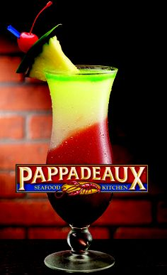 This is the best drink ever I have never tasted something so good in my life. - This is the best drink ever I have never tasted something so good in my life. Wine Drinks, Alcoholic Drinks, Cocktails, Pappadeaux Seafood, Pappadeaux Recipe, Mousaka Recipe, Passionfruit Recipes, Recipes, Kitchens