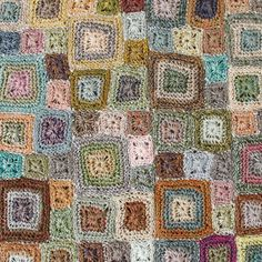 Sophie Digard Linen Square Motif Stole / Multi - taste&touch ウェブショップ