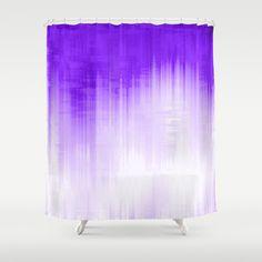 Purple Shower Curtain by Ornaart - $68.00