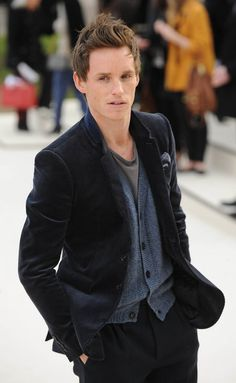 Christian Grey? I might be the first to suggest Eddie Redmayne