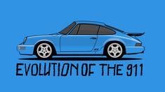 Evolution of the Porsche 911 | Donut Media - YouTube