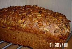 Домашний хлеб на кефире (в духовке). Рецепт