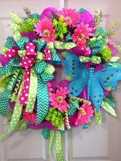Spring /Summer Mesh Wreath