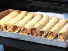 Slow Cooker Chicken and Cheese Taquitos are super easy and a kid favorite!