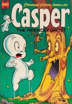 Casper # 22 1954 - Harvey Golden Age Humor Comic G - Technology News Old Comic Books, Vintage Comic Books, Vintage Cartoon, Vintage Comics, Comic Book Covers, Old School Cartoons, Old Cartoons, Classic Comics, Classic Cartoons