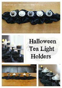 Halloween Tea Light