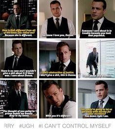 Harvey talking about Donna! Serie Suits, Suits Tv Series, Suits Tv Shows, Tv Show Quotes, Movie Quotes, Donna Suits, Specter Suits, Harvey Specter Quotes, Suits Quotes