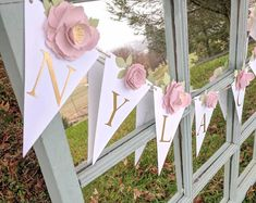 Happy Birthday Sign Discover Personalized paper flower garland with blush peonies Pink and gold baby shower Nursery wall flowers Baby name sign Fake flower wall Shower Banners, Name Banners, Blush Peonies, Blush Pink, Paper Peonies, Flower Wall, Flower Nursery, Paper Flower Garlands, Fake Flowers