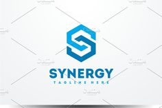 Synergy - Letter S Logo by yopie on @creativemarket