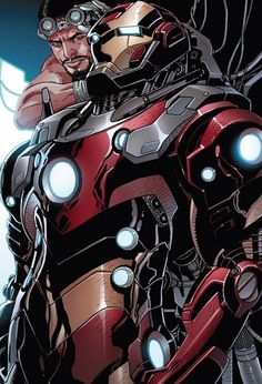 ✭ Iron Man Model 39 from Invincible Iron Man #523 by Salvador Larroca Stan Lee, Marvel Comic Universe, Marvel Comics Art, Marvel Heroes, Comic Book Characters, Comic Character, Marvel Characters, Best Superhero, Iron Man Art