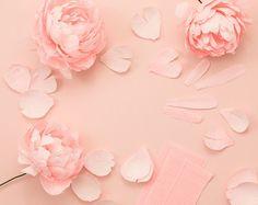 Paper DIY Paper Peony Bouquet http:diy-paper-peony-bouquet Paper Flowers Craft, Crepe Paper Flowers, Flower Crafts, Diy Flowers, Fabric Flowers, Peony Flower, Flower Art, Paper Peonies, Peonies Bouquet