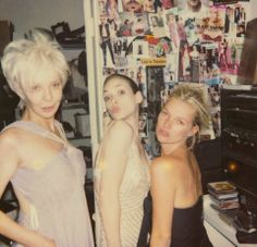 Kate Moss, Karen Elson, Selma Blair, Winona Ryder, and more pal around with Sofia Coppola in these never-before-seen Polaroids by Robert Rich. Kate Moss, Winona Ryder, Keanu Reeves Family, Winona Forever, Heroin Chic, Selma Blair, Queen Kate, Karen Elson, Sofia Coppola