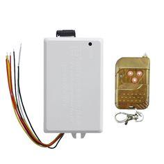 NFLC-TD 1x TAD-YK618 220V wireless dual remote control relay switch #Affiliate
