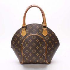 Louis Vuitton Ellipse PM Monogram Handle bags Brown Canvas M51127